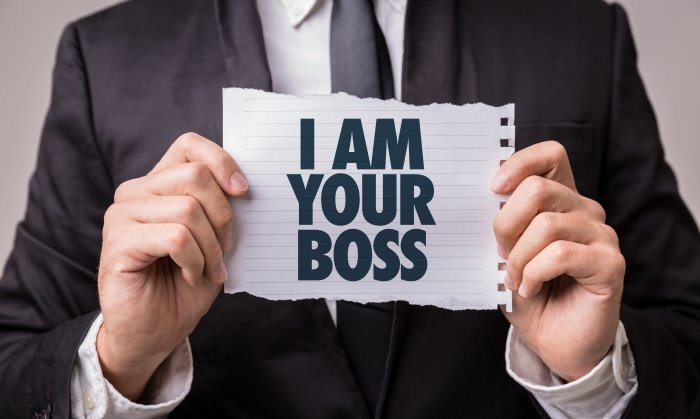 I am your boss